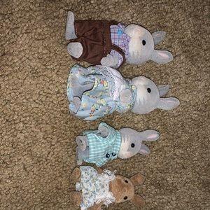 calico critter Rabbit family